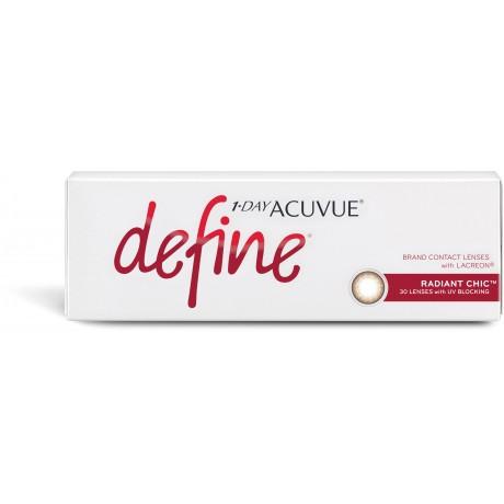 "1-DAY ACUVUE® DEFINE®  (7 IMAGES ""DEFINE"")"